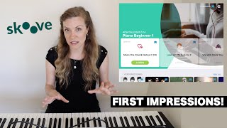Skoove Piano Learning App: First Impressions