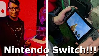 I Played The Nintendo Switch!!! (Video Game Video Review)