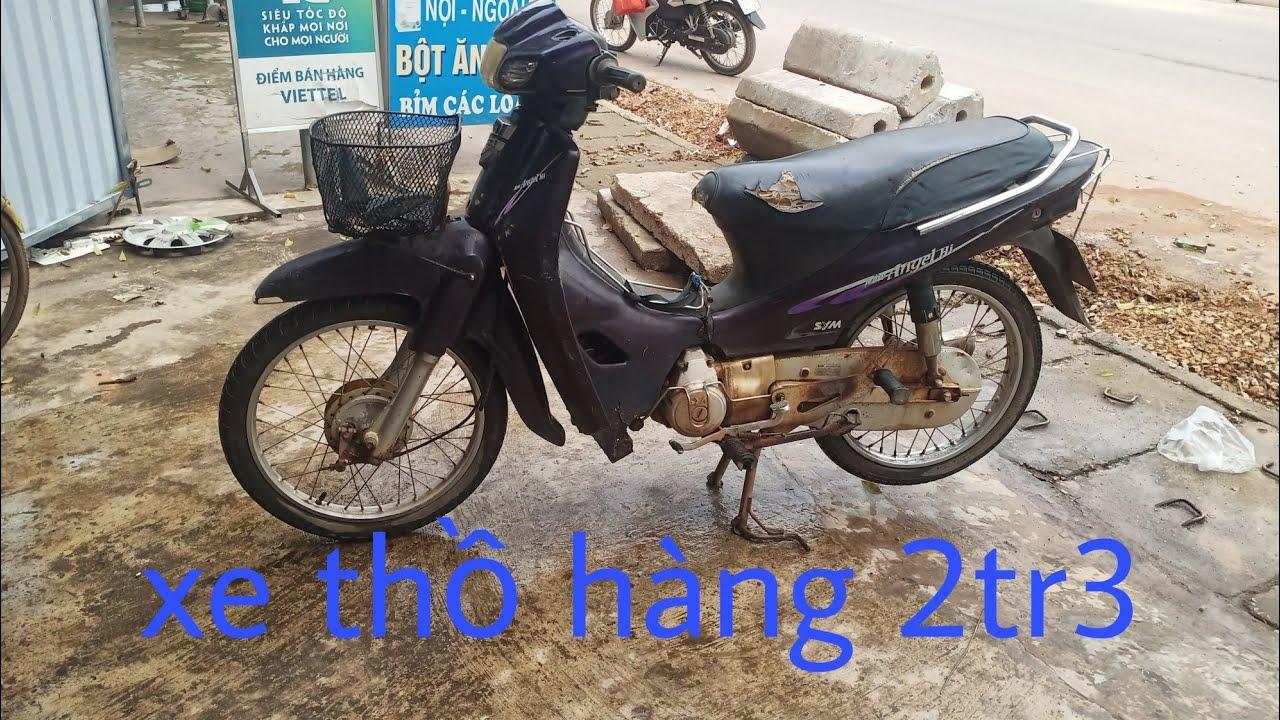 Xe máy chở hàng giá rẻ khoẻ như voi