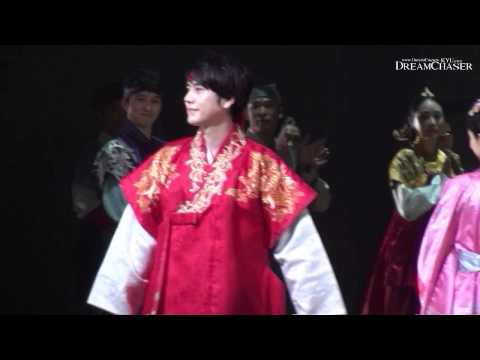 [Fancam] 140118 Kyuhyun  Moon that Embraces the Sun musical