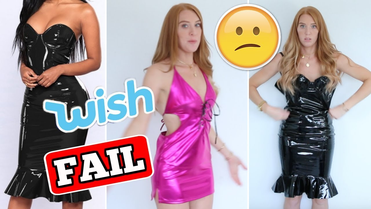 wish haul ab 1 cent xxl fail? 😩 die krankesten klamotten im china online  shop 😱 help | laurajoelle