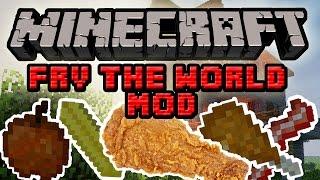 Minecraft Mody: Fry the World Mod - Smaż Jedzienie! Frytki, Nuggety i Frytkownica!