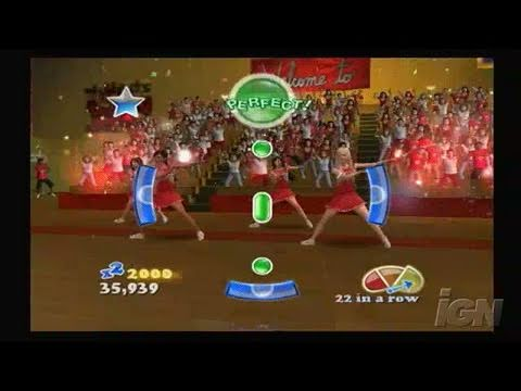 High School Musical 3: Senior Year Dance PlayStation 2 Gameplay - Now or Never