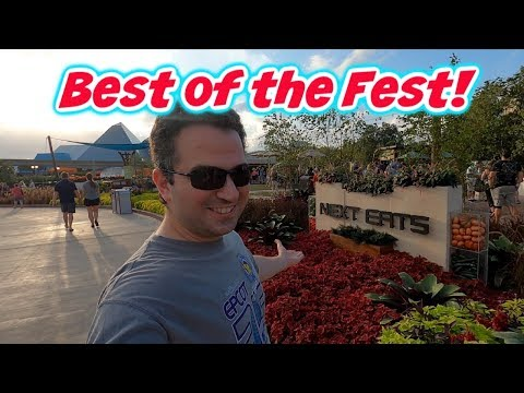 Best of the Fest! Food and Wine 2019 Best Food