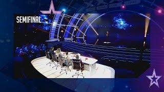Risas y magia: Pablo Cerastes electrocuta al jurado | Semifinal 4 | Got Talent España 2018