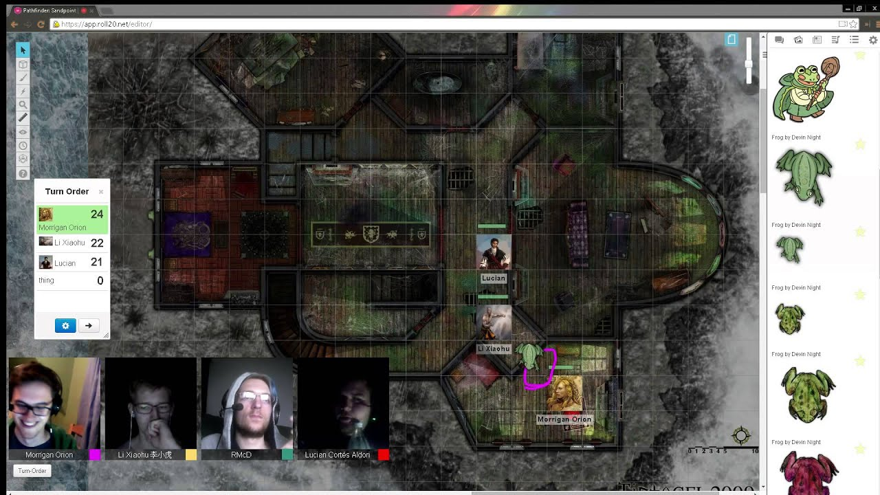 S02e03p04 Pathfinder Rise Of The Runelords Haunted House Youtube