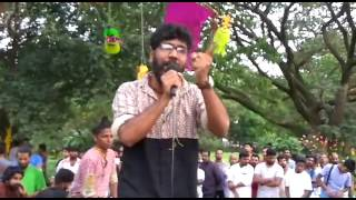 music programme as part of protest against vinayakan's death due to police brutality-