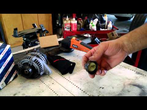 How to: Cheaply repair BA, BF Ford Falcon Territory Ignition Switch
