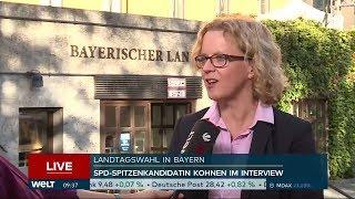 WAHL IN BAYERN: SPD kämpft tapfer gegen Bedeutungslosigkeit