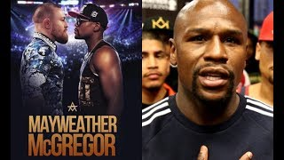 FLOYD MAYWEATHER VS CONOR MCGREGOR FINALIZED
