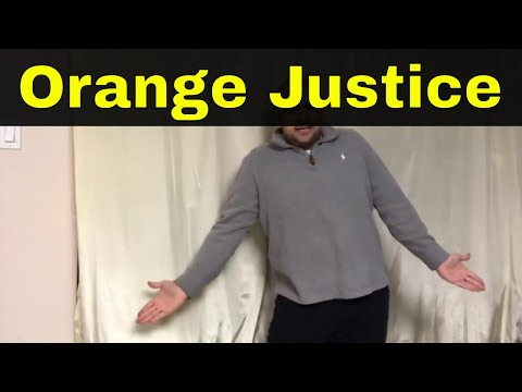 How To Do The Orange Justice Dance-Easy Tutorial