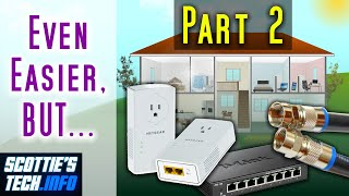So you've read all the studies about our Wireless Wonderland, and you'd like to go wired. You've also watched my first video, No More WiFi: How to wire your ...