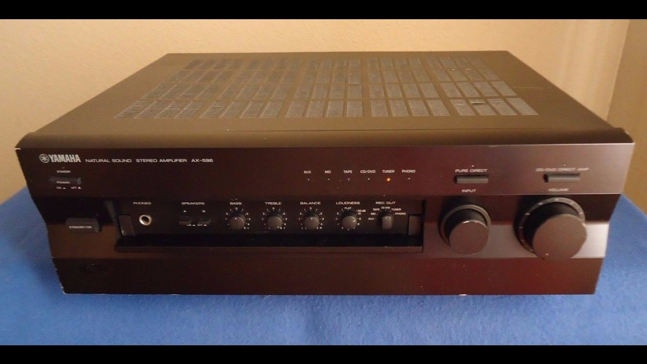 Yamaha AX-596 Natural Sound 2 Channel Integrated Amplifier ____ sn:  Y045190RT