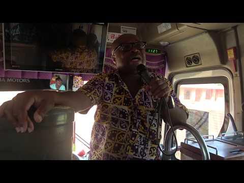 Driving through Abomey to Visit the Kingdom of Dahomey - Benin Roots Tour Nov 2017