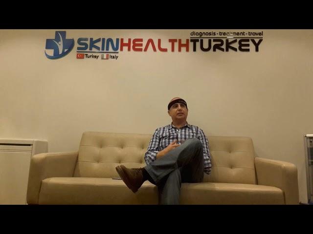 Trasplante Capilar Turquía - Testimonial Señor Juan Francisco - Dra. Oyku Çelen/Skin Health Turkey