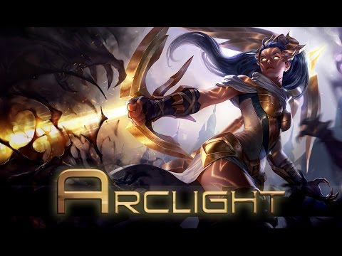 bäst billig bra kvalitet nyanser av League of Legends: Arclight Vayne (Skin Spotlight) - YouTube