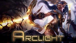 League of Legends: Arclight Vayne (Skin Spotlight)