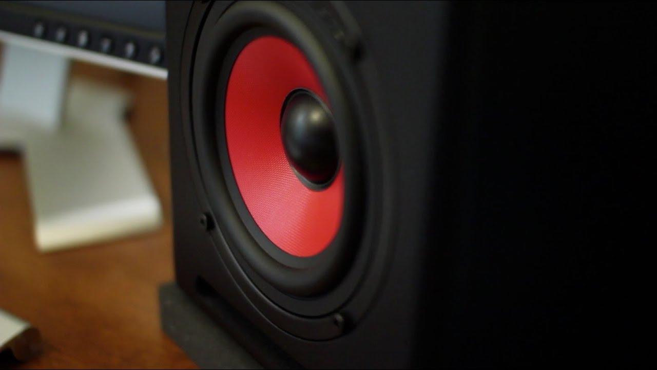 iKey Audio M-505V2 Studio Monitors!