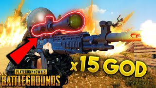 MK14 + x15 Scope BIG PLAYS!! | Best PUBG Moments and Funny Highlights - Ep. 233