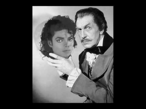 "Vincent Price & Michael Jackson's Session for ""Thriller"""