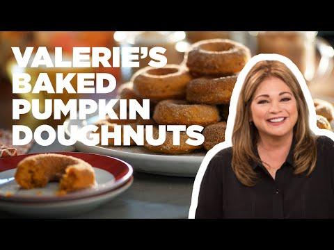 Baked Pumpkin Doughnuts  Food Network