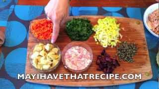 Video Recipe: Mediterranean Tuna Salad