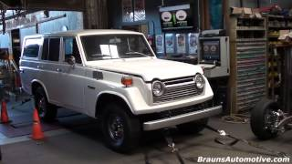 '76 Toyota Land Cruiser dyno run