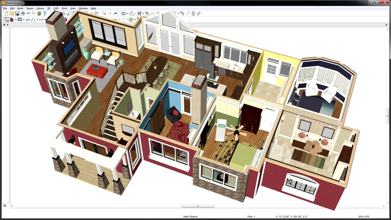 Home interior design software for interior design for Home design tool