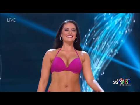 Miss Universe Canada 2016 Siera Bearchell bikini body evolution