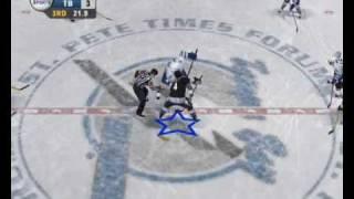 NHL 06 DEMO gameplay + nájezdy