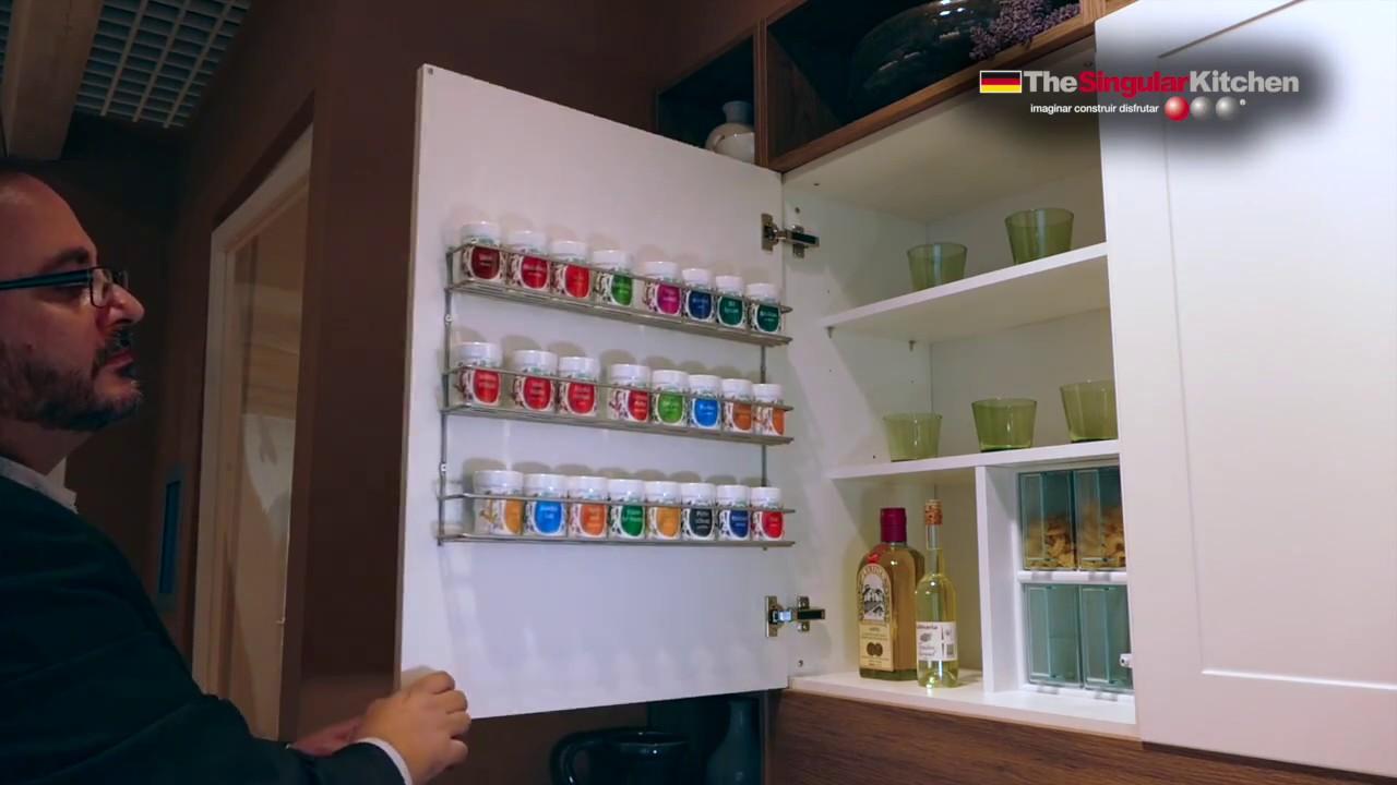 Muebles de cocina especiero youtube for Youtube videos de cocina