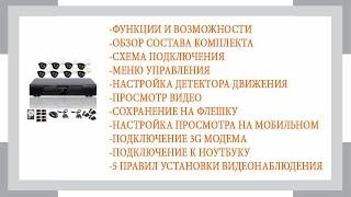 Готовый комплект видеонаблюдения Айсон про С(, 2015-06-26T18:43:25.000Z)