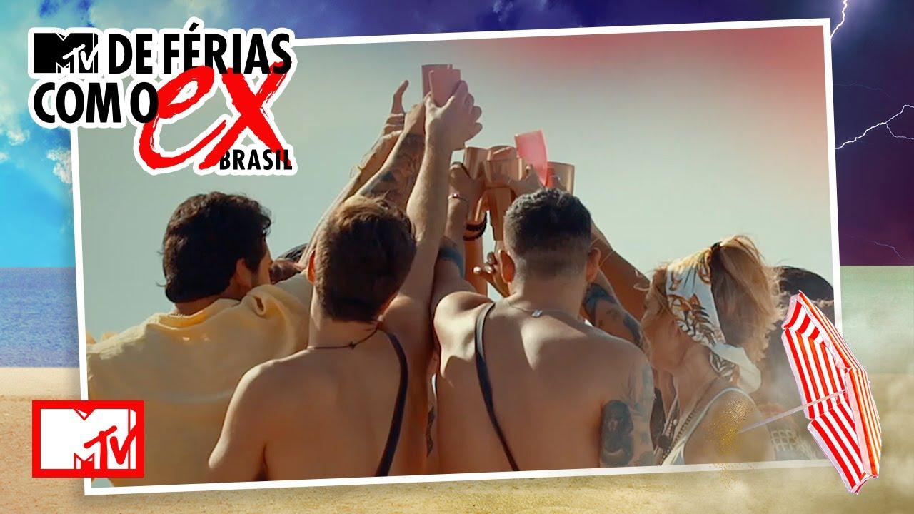 Solteiros se conhecem em festa nas dunas | MTV De Férias Com O Ex Brasil T6