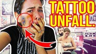 TATTOO UNFALL. 😭 TATTOO SELBER MACHEN - fettester FAIL EVER!!!