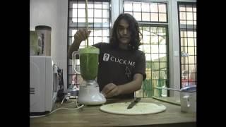 How to make Papaya Leaf juice!