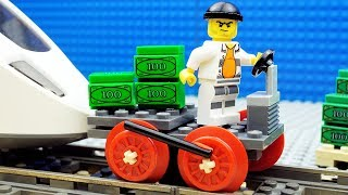 Lego Train Money Transport Fail