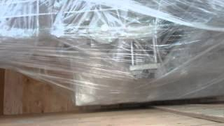 Export Packaging Wooden Case Crate For Inline Screw Capping Fumigation Free Plywood Pallets Packing