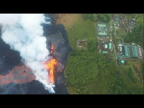 Hawaii On Edge As Lava Reaches Power Plant Grounds