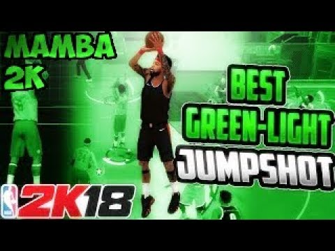 NBA 2k18 Green Light District Jumper(99 percent green) Watch the whole video