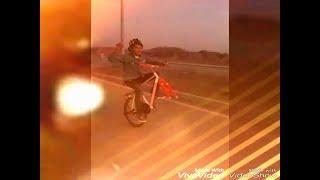Pakistani Boy vs Indian boy cycle wheeling