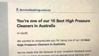 Top 10 Pressure Cleaning Business ServiceSeeking.com.au