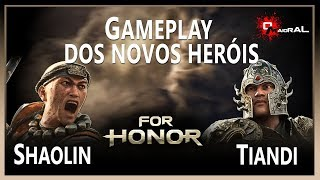 FOR HONOR - Novos Heróis Shaolin e Tiandi
