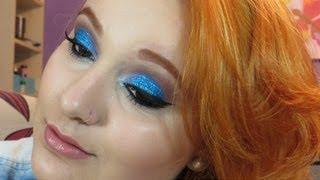 Tutorial Baphônico: Glitter Azul