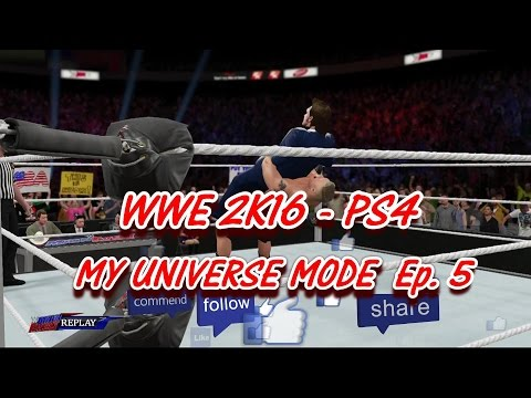 "WWE 2K16 Universe Mode - Ep. 5 ""DR WHO: THE LAIR OF THE BEAST - SUPLEX CITY!!"" [WWE 2K16 Part 5]"