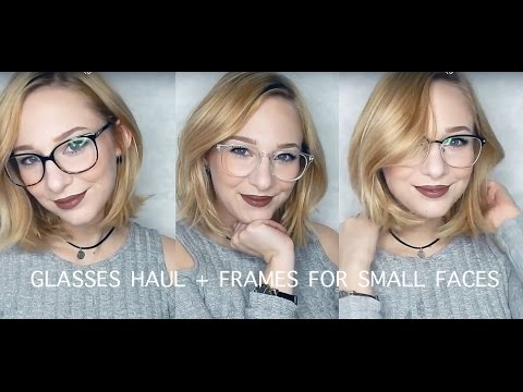 EYEBUYDIRECT GLASSES HAUL | glasses for small faces