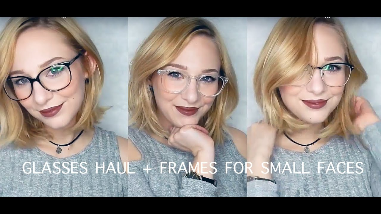 Glasses Frames For Small Faces : EYEBUYDIRECT GLASSES HAUL glasses for small faces - YouTube