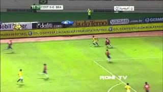 Ronaldinho vs Costa Rica - 07/10/2011 - [ roni TV ]