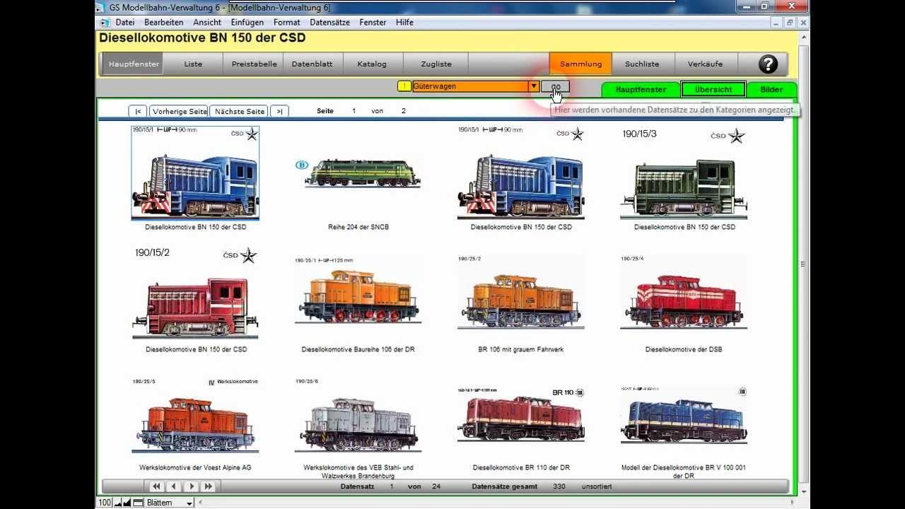 modellbahnverwaltung