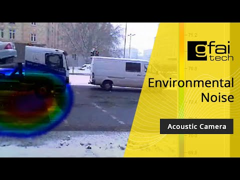 Acoustic cameras trialled in clampdown on illegal noisy cars