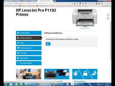 Download Driver Máy In HP LaserJet Pro 1102